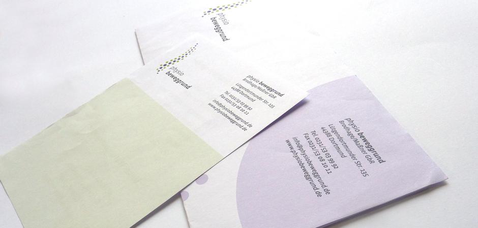 Beweggrund Briefbogen